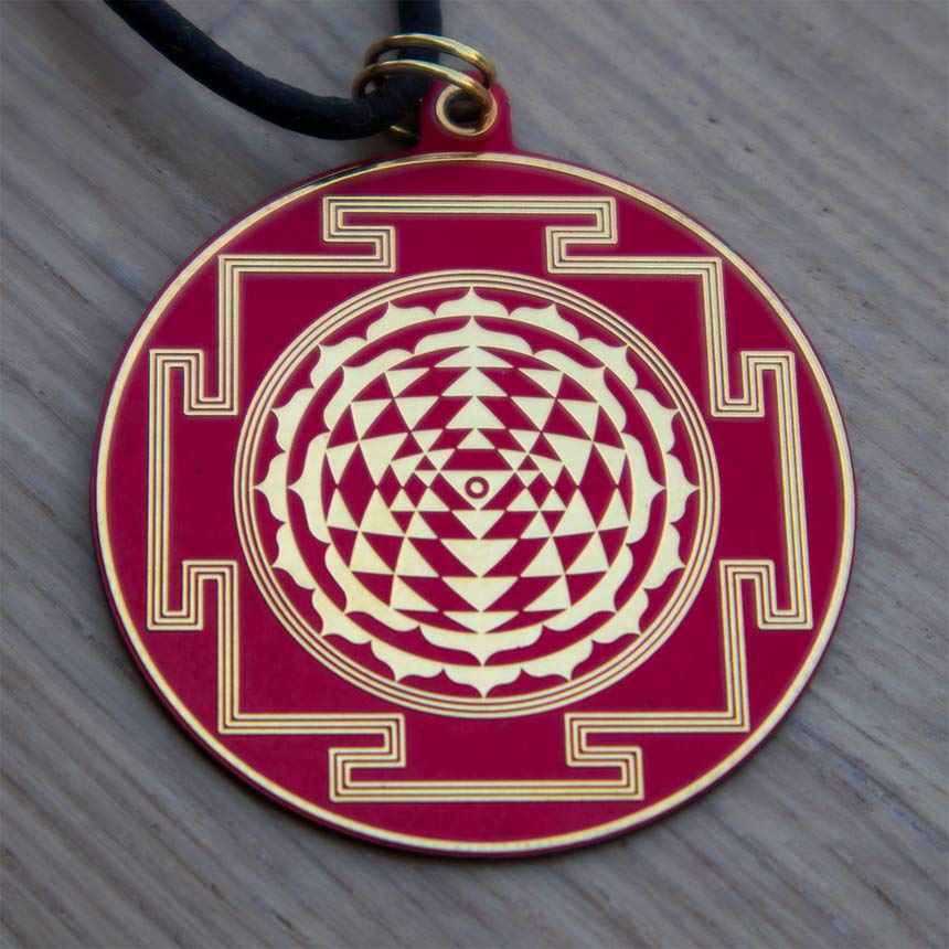 Sri Yantra Pendant - 3 colors